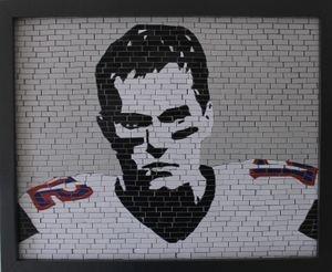 Tom Brady Mosaic