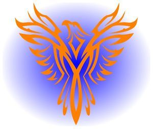 As the phoenix rises from the ashes so do we rise from past circumstances.