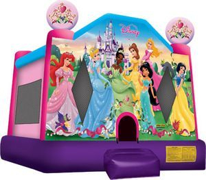 "Disney Princess bounce house (13'x13"")"