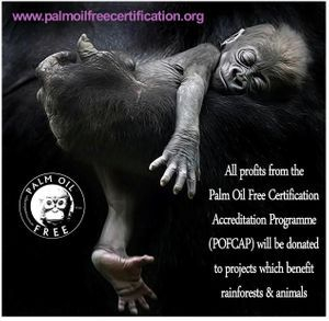 palm oil free for gorillas