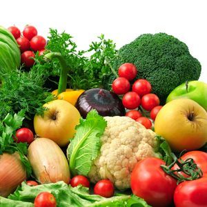 Fruit and vegetables to lose weight
