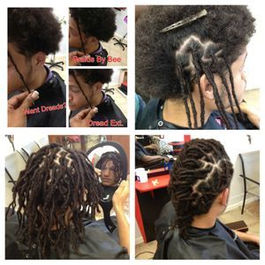 Braids by Bee starts Dreadlocks for clients from all around the world with all different types of hair textures.