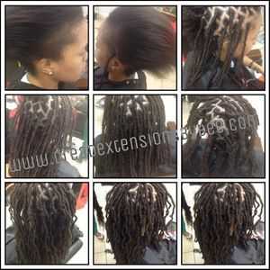 Start your Natural dreadlock Journey with Braids by Bee's Instantlocs