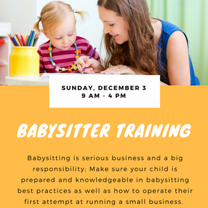 how to become a certified babysitter in ny