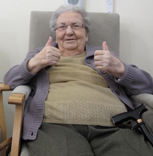 Remaining in the comfort of their home makes seniors happy