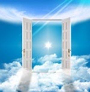 Heaven, sky, clouds,