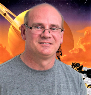 Sci-Fi and Fantasy author Daniel McMillan, owner of Vector11Studio