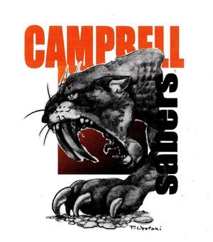 Campbell Sabers- highschool mascot