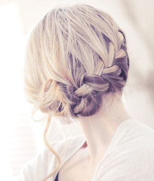 Updo, Style, Color, Highlights