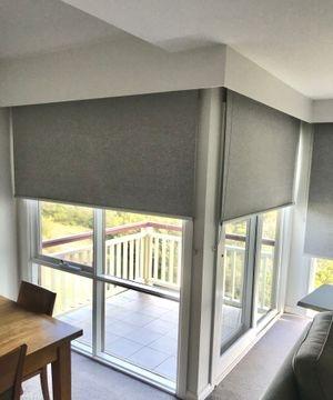 Fitted Roller blinds @ the RACV  Cape Shancke resort