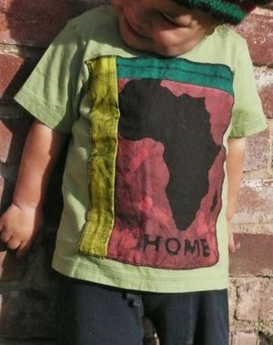 Africa is Home, African batik, organic cotton, organic Africa