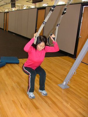 TRX is fun and a great way to get stronger