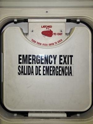 emergency exit, by greek2m