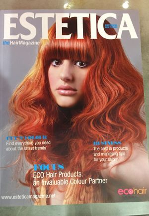 Javo on the cover of Estetica Magazine.