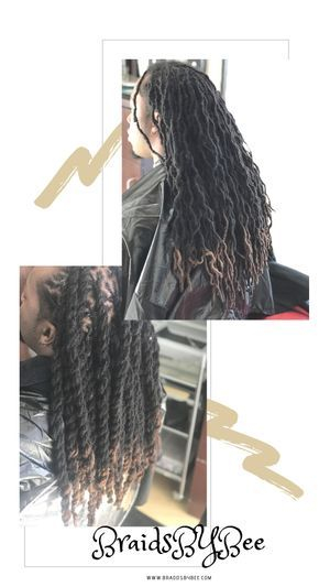 Braids by Bee caters to natural dreadlocks and will tell you when you need repairs
