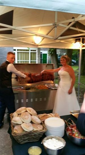 Wedding hog roast hire doncaster yorkshire
