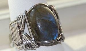 Pharoh Ring, men or women.  Choice your stone