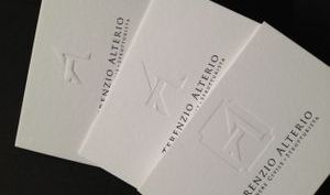 bespoke letterpress business cards