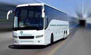 autobus per linja nderkombetare