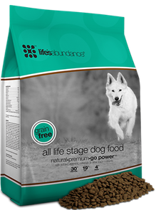 Natural Healthy Puppy food No Grain