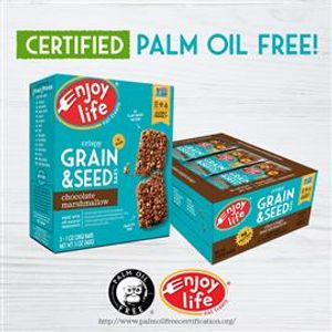 certified palm oil free for snacks