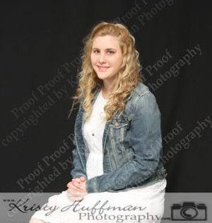 Girl Senior Picture