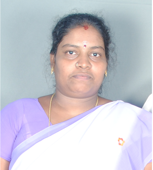 Mrs. Sivakami (God Contacter) - one of the members of the Project Regard.