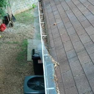 """Gutter Cleaning Before"""