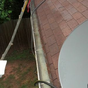"""Gutter Cleaning After"""
