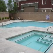 Commercial multi-use swimming pool  and spa