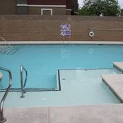 Commercial multi-use swimming pool