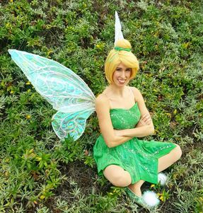 tinkerbell wings green fairy birthday party los angeles