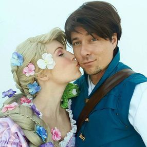 rapunzel princess flynn tangled love couple character company best los angeles