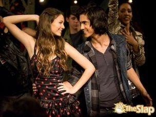 me and Tori dancing