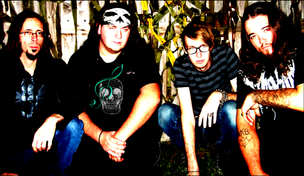 First band photo shoot - Credit to Billy