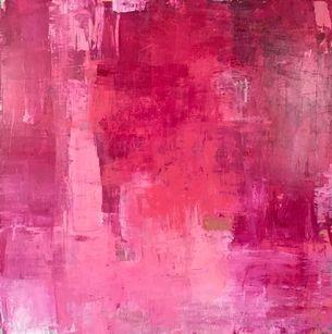deep pink abstract,