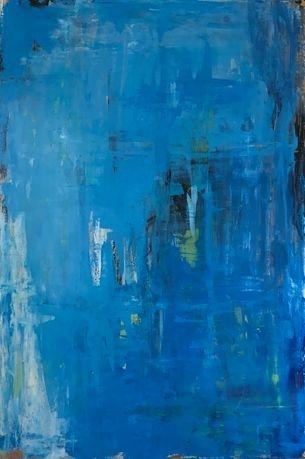 deep blue art for seascape feel art