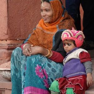 "src=""australian womens travel.jpg alt=womens tours,mother and child , India"