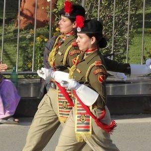 "src=""australian womens travel.jpg alt=womens tours,twowomen indian soldiers, wagah , India"