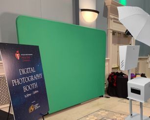 Green Screen Photo Booth and Green Screen Photographer