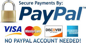 Easy secure payments with paypal.