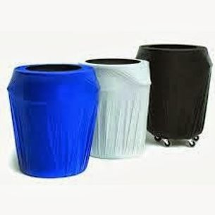 33 GAL Plastic Elastic Barrel Covers