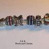 European charms and  beads to fit pandora , 925 sterling silver charms