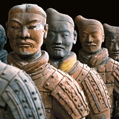 Terracotta Warriors and  Ancient Greece