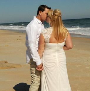 Flagler Beach Florida  Beach Wedding Si Como No Inn