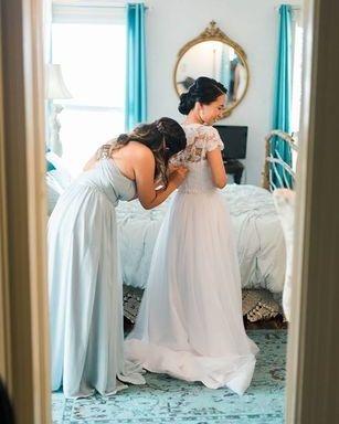 Our Bridal Suite in Magnolia Manor.