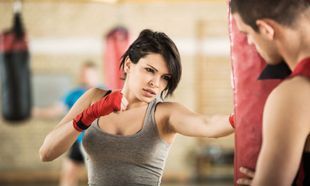 get fit with kickboxing