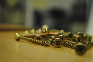 screws on timber