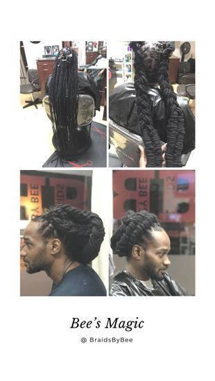 Repair natural dreadlocks with Braids by Bee instantLoc Dread Extensions methods get consulted today