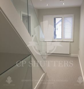 modern design shutters in brentwood